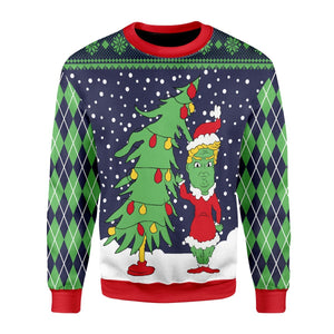 Grinch Ugly Sweater / S Qm1653