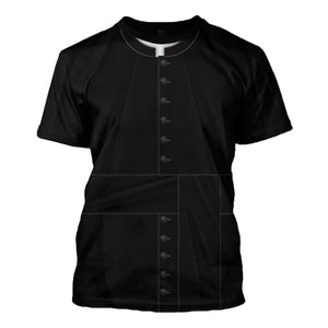 Clergy Black Suit T-Shirt / S Vn524