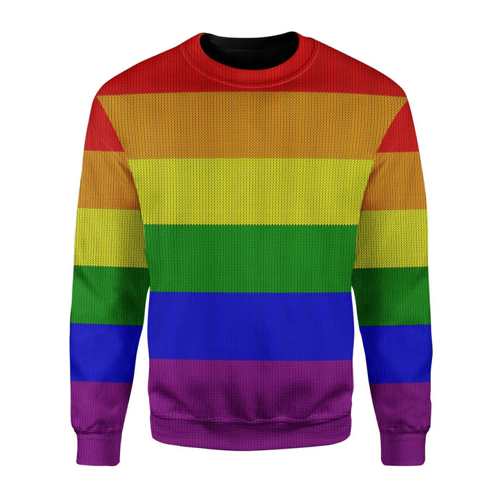 Lgbt Ugly Sweater / S Qm1645