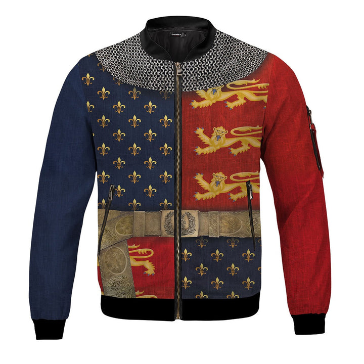 Henry V of England Bomber Jacket