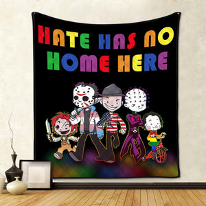 Hate Has No Home Here Quilt / S (37.8 X 44.9 Inches/ 3.1 3.7 Feet) G26