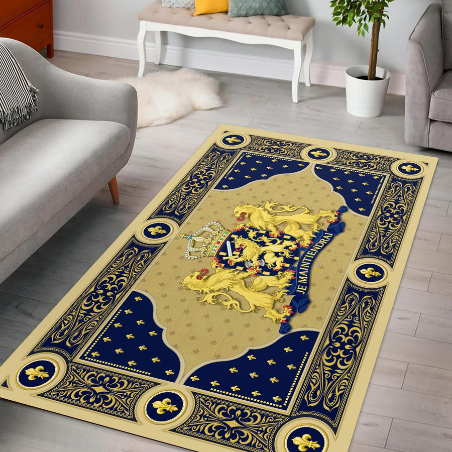 Coat Of Arms The Netherlands Rug / Small (3 X 5 Feet - 35 59 Inches) Qm1172