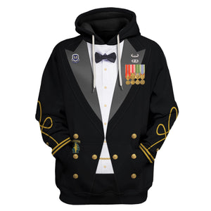 Us Army Mess Uniform Hoodie / S Vn230