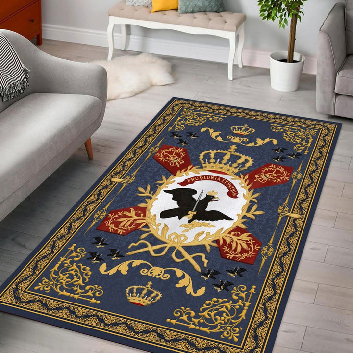 Flag Prussian Army Rug Qm1427