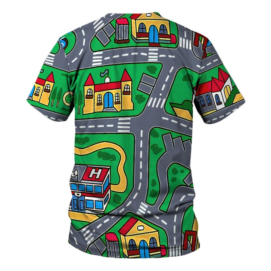 Vn527 Kid Carpet Shirt