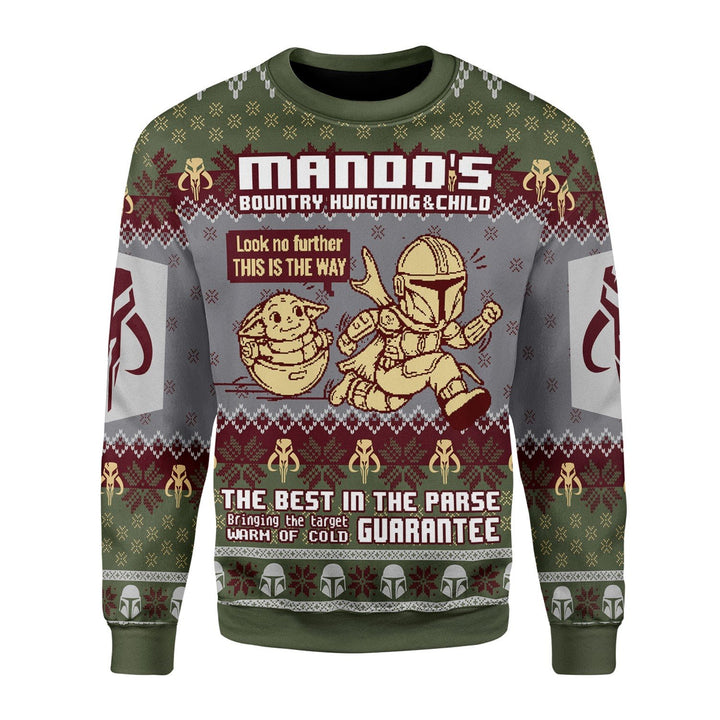 Mandos Bountry Hungting Ugly Christmas Sweater / S Qm1683