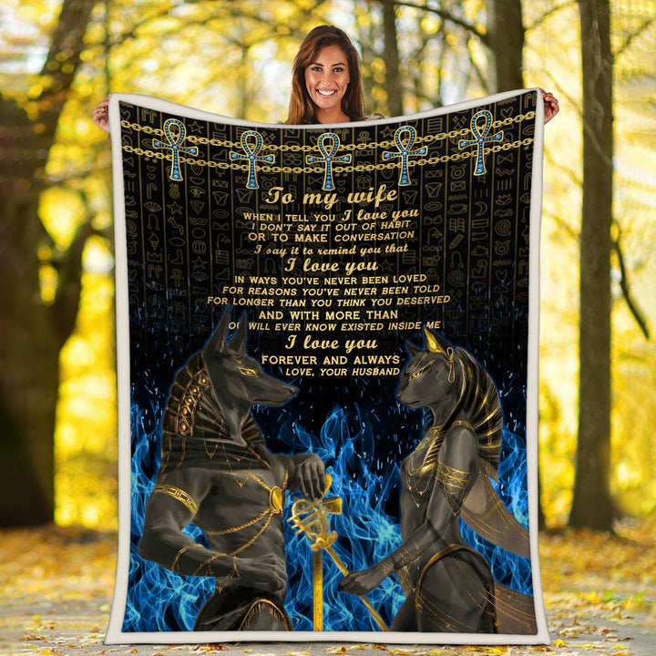 Egyptian Mythology Blanket