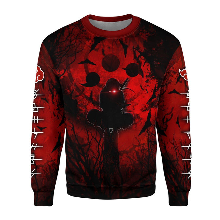 Red Night 3D Fleece Long Sleeves / S G891
