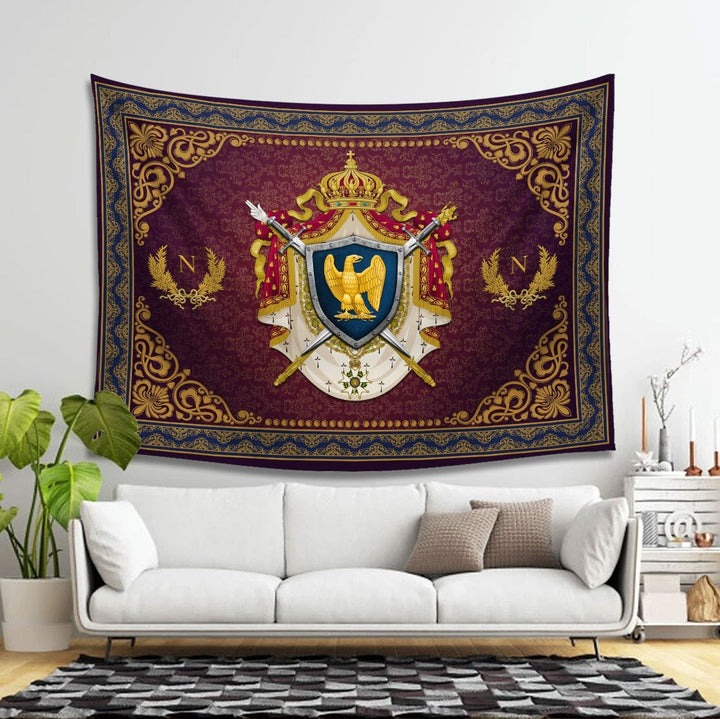 Napoleon Bonaparte Tapestry - 4 Holes / S (27.6 X 39.4 Inches 2.3 3.2 Feet) Qm1439