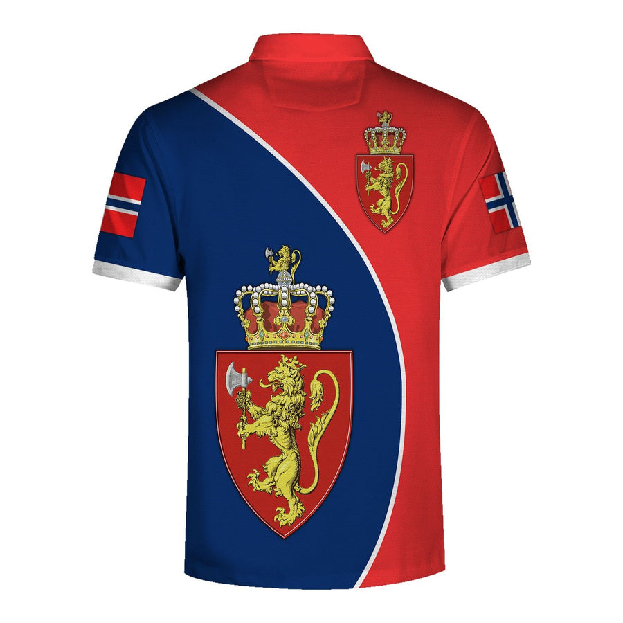Coat Of Arms Norway Polo Shirt Qm1445