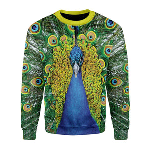 Peacock Fleece Long Sleeves / S Pc01