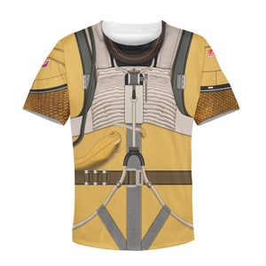 3D Kid Bossk All Over Print Kidhp54 T-Shirt / S