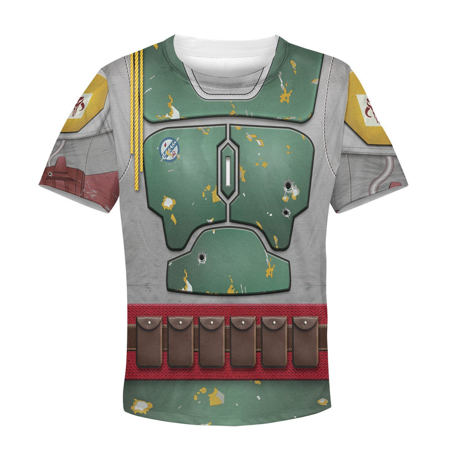 Kid B Fett All Over Print Kidhp26 T-Shirt / S