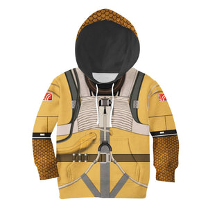3D Kid Bossk All Over Print Kidhp54 Hoodie / S