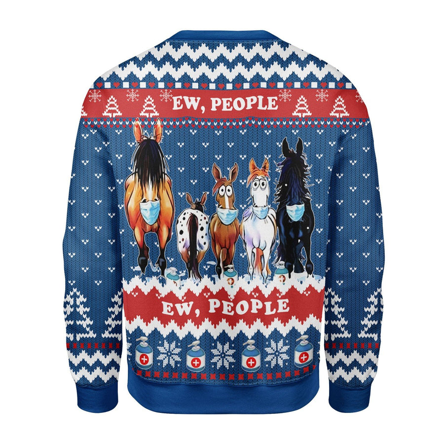 Ew People Ugly Christmas Sweater Kd425