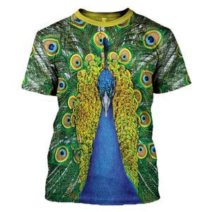 Peacock T-Shirt / S Pc01