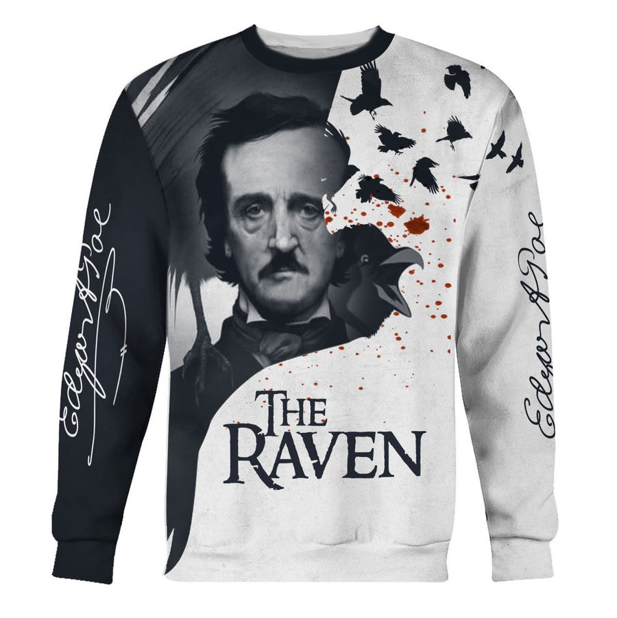 The Raven Long Sleeves / S Qm906
