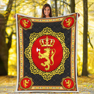 Coat Of Arms Norway Blanket / S (51 X 59 Inches - 4 5 Feet ) Qm1602