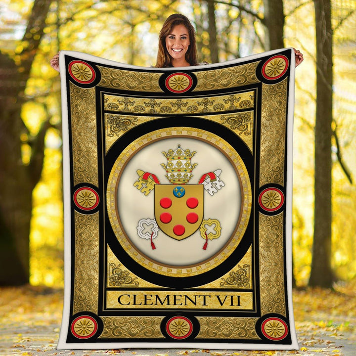 Clement Vii Blanket / S (51 X 59 Inches - 4 5 Feet ) Qm1577