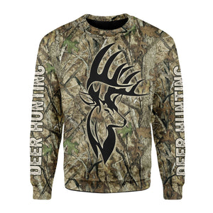 Deer Hunter Camo Fleece Long Sleeves / S Qm1611