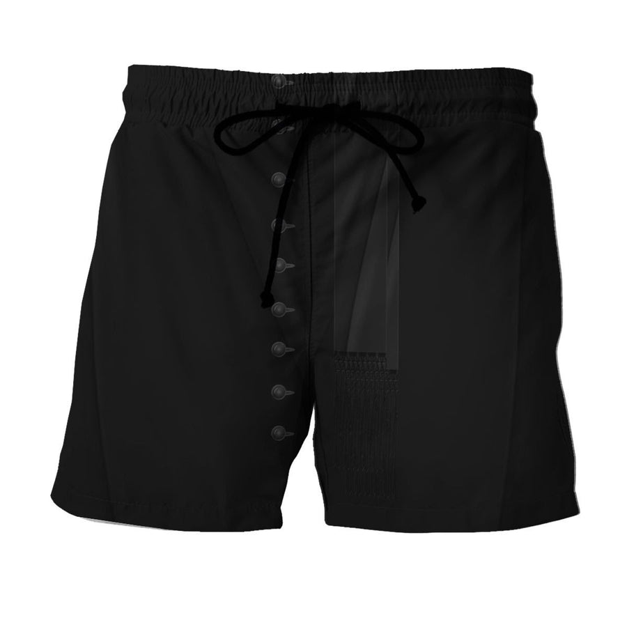 Clergy Black Suit Shorts / S Vn524
