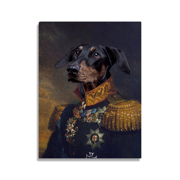 King Leopold I of Belgium - Custom Pet Canvas