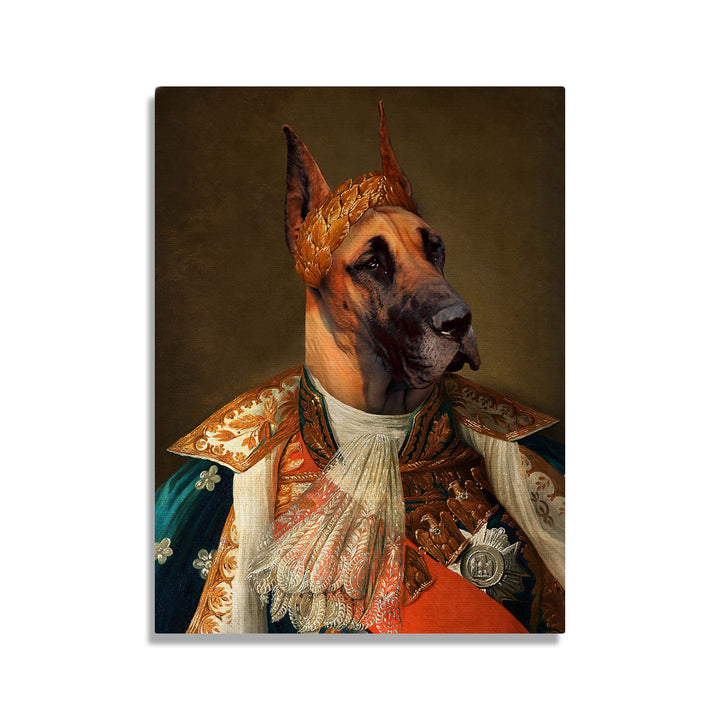 Napoleon I of England - Custom Pet Canvas