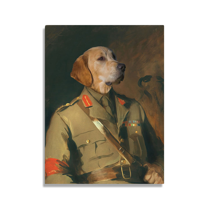 Major General Sir Harold Walker - Custom Pet Canvas