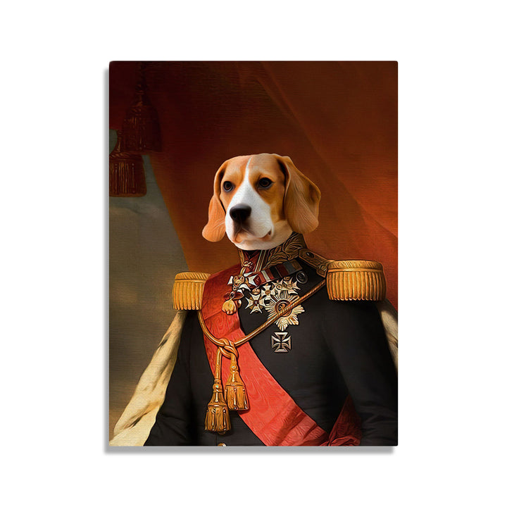 Leopold I of Belgium - Custom Pet Canvas