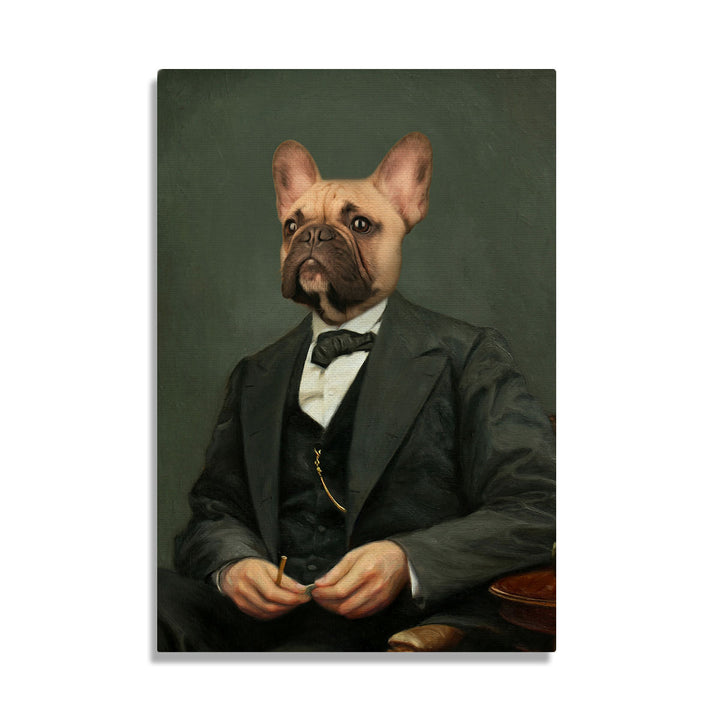 Abraham Lincoln - Custom Pet Canvas