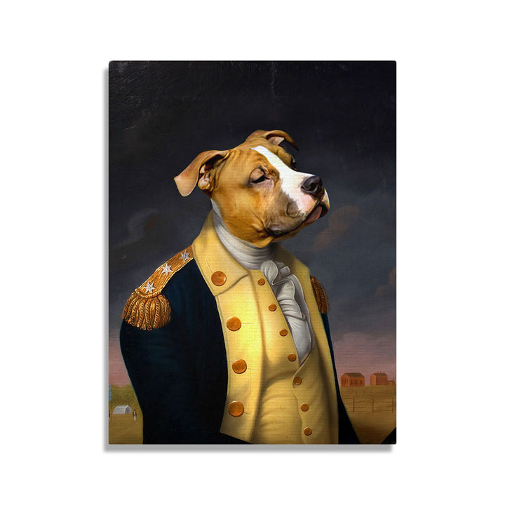 George Washington - Custom Pet Canvas