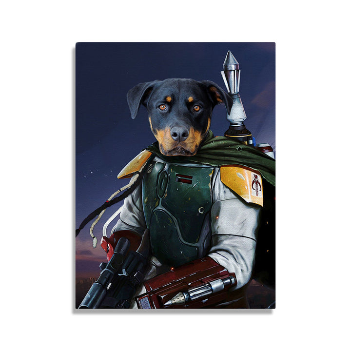 Boba Dog - Custom Pet Canvas