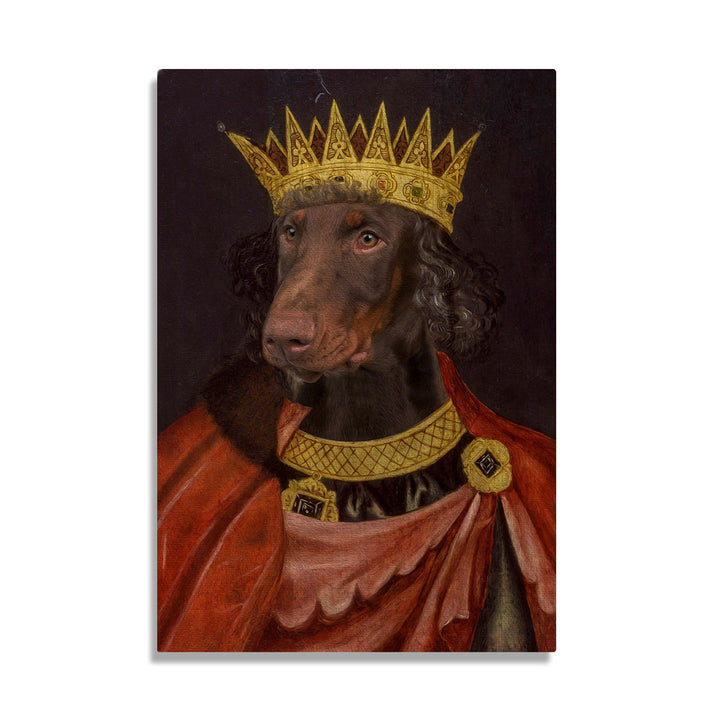 King Edward I of England - Custom Pet Canvas