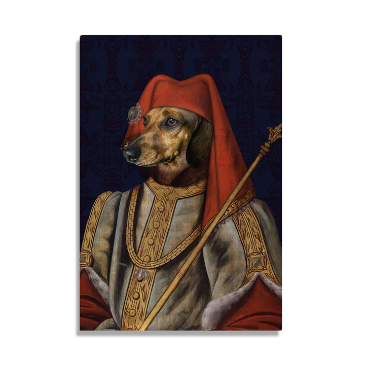 King Henry IV of England - Custom Pet Canvas