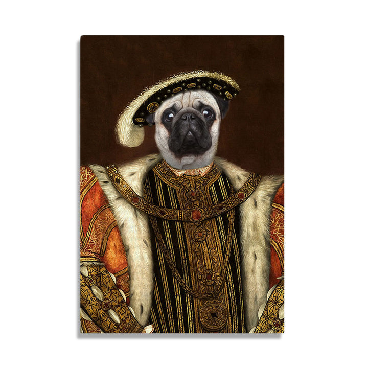 King Henry VIII of England - Custom Pet Canvas