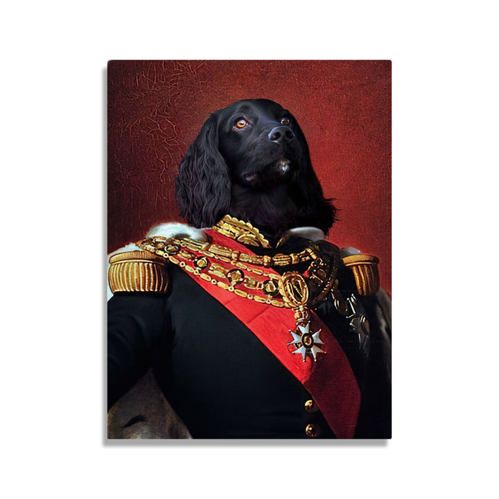 King Napoléon III of France - Custom Pet Canvas
