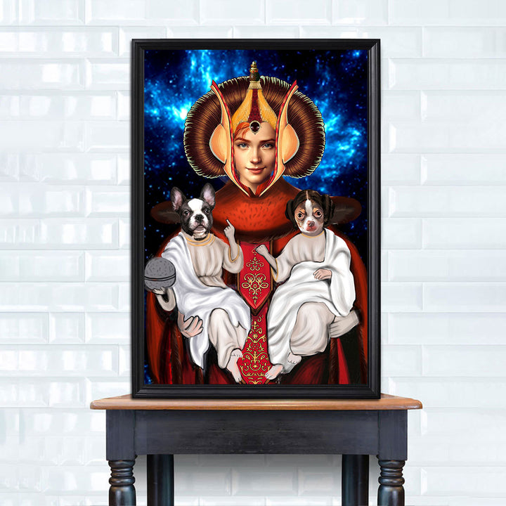 Customized Photos Poster Padmé Amidala
