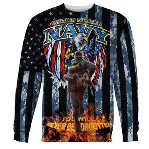 United States Navy Memorial Day Long Sleeves / S Hp82