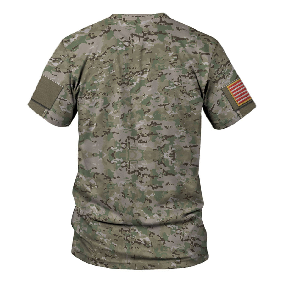 Us Army Combat Uniform Sergeant Vn458