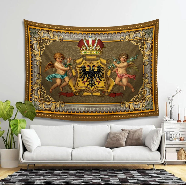 Coats Of Arms The Holy Roman Empire Tapestry - 4 Holes / S (27.6 X 39.4 Inches 2.3 3.2 Feet) Qm1450