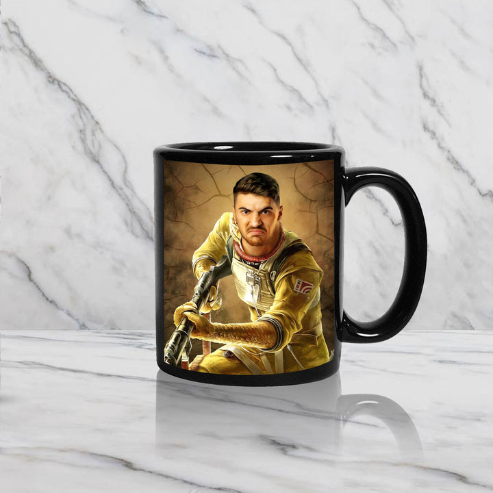 Like A Bossk Single Custom Mug KD1081
