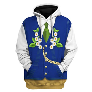 Swedes In National Costume Hoodie / S Vn399