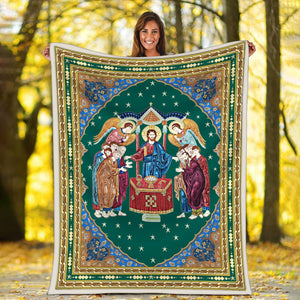 Communion Of The Apostles Blanket / S (51 X 59 Inches - 4 5 Feet ) G109