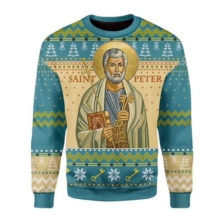 Saint Peter Ugly Christmas Sweater / S Kd337