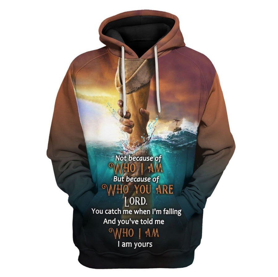 Not Because Of Who I Am But You Are Hoodie / S Vn750