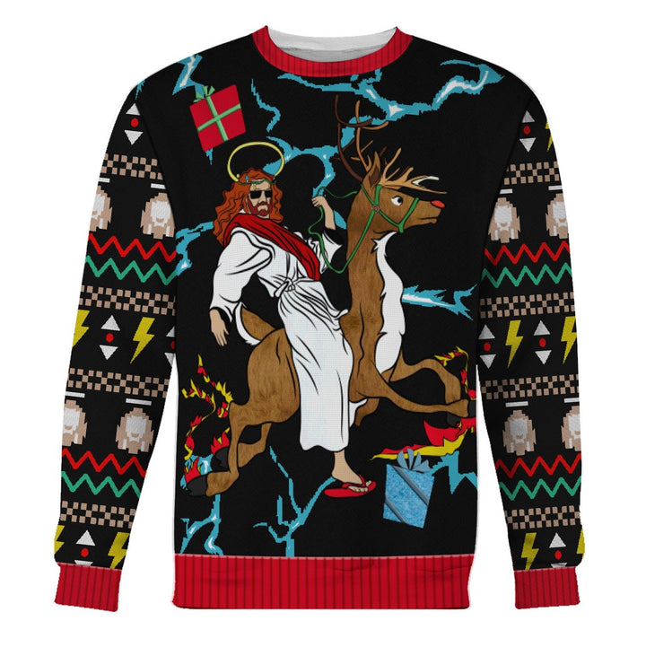 Jesus Ugly Sweater / S Qm1488