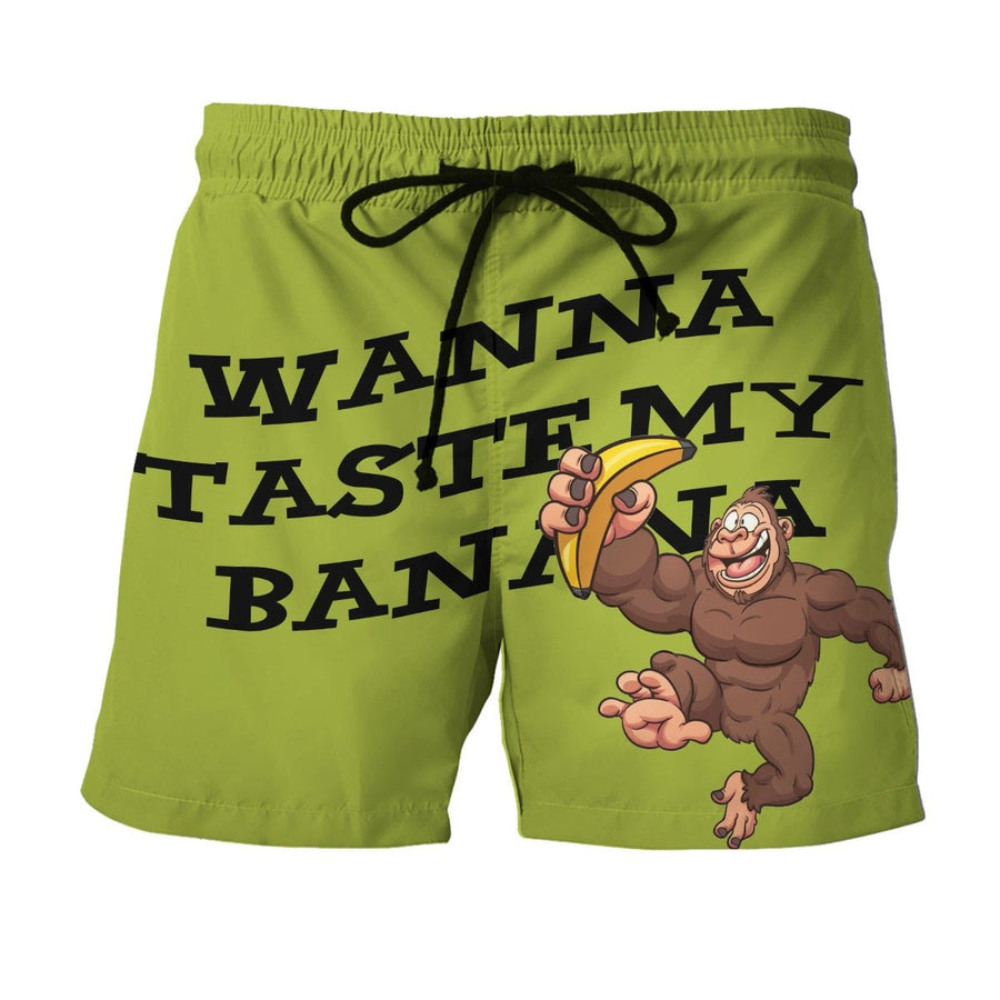 Vn557 Wanna Taste My Banana Shorts / S