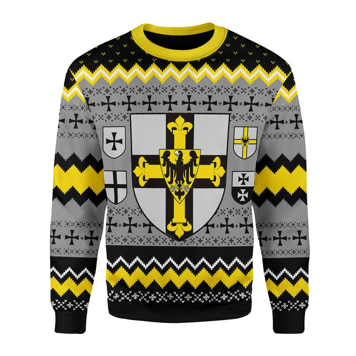 Grand Master Of The Teutonic Order Ugly Sweater / S Qm1617