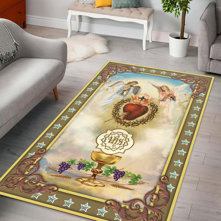Ihs Rug / Small (3 X 5 Feet - 35 59 Inches) Qm1409