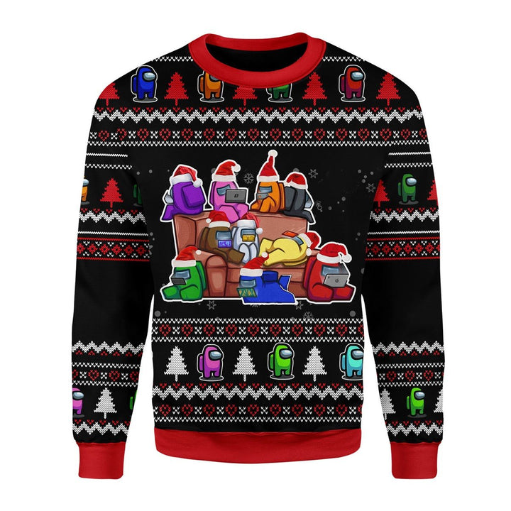 Among Us Ugly Sweater Christmas / S G237